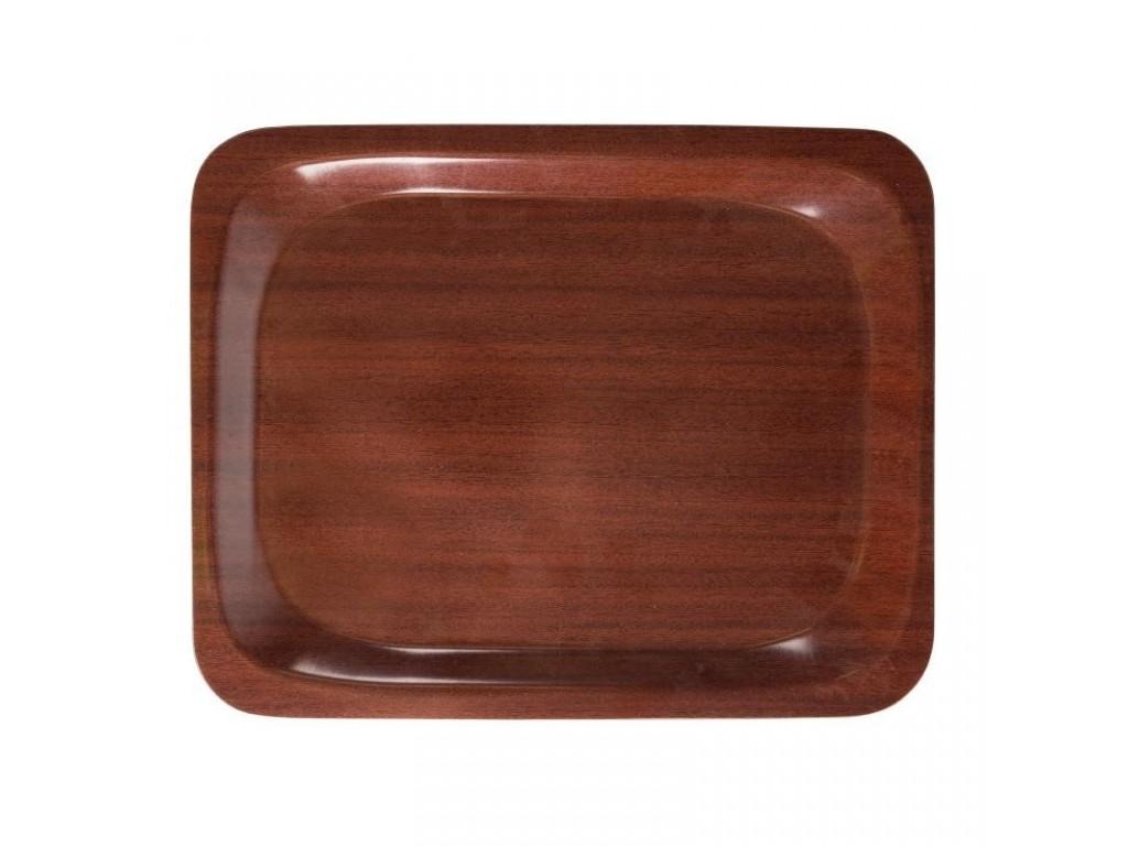 Cambro dienblad mahonie 26,5 x 32,5 cm