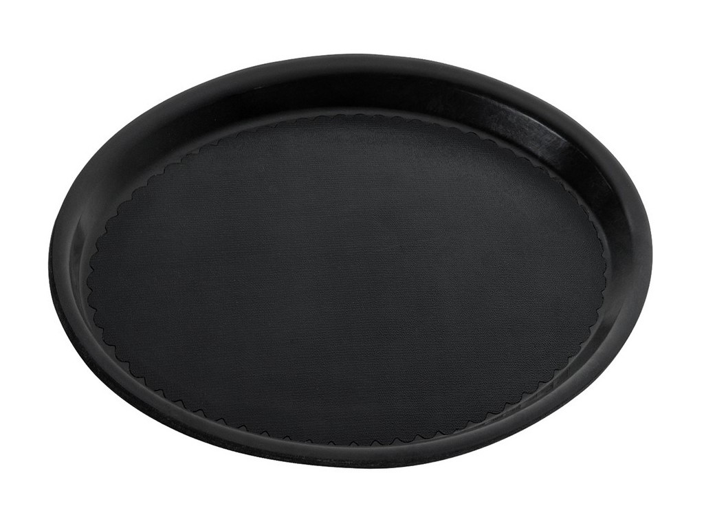 Dienblad zwart ø 280mm